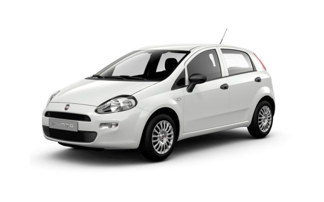 corfu car hire fiat punto rent a car