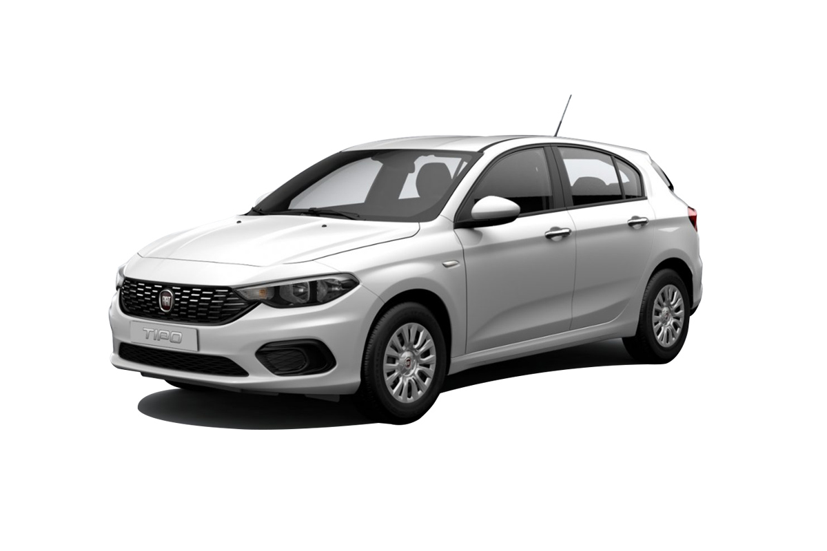 corfu car hire fiat tipo rent a car - gallery